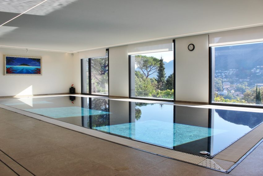 Villa with swimming pool and spa Lugano Switzerland